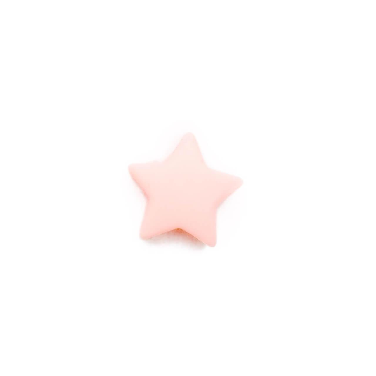Мини звездочка (кварц) бусина из пищевого силикона