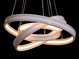 Светодиодная люстра с цветной подсветкой 155 W M302
