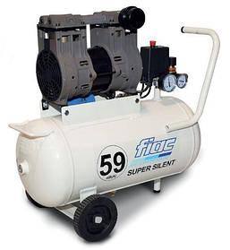 Безмасляный компрессор FIAC SUPERSILENT 50 (ресивер 50 л, пр-сть 160 л/мин)
