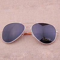 Солнцезащитные очки.Очки от солнца.Унисекс Золотистый, фото 1