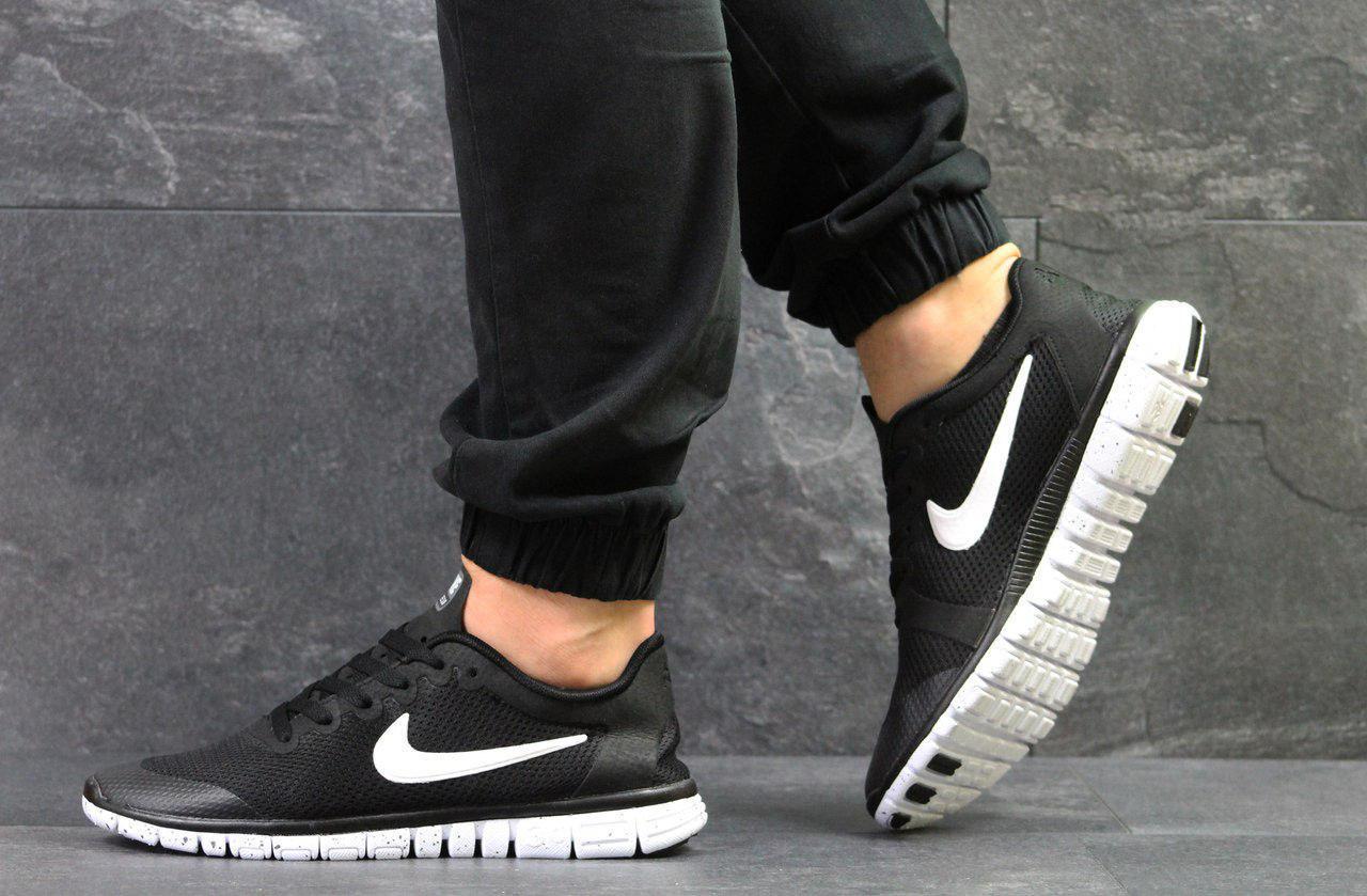 0e7558d4 ... Кроссовки Мужские Nike Free 3.0 (Черно/Белые) Реплика 💯 Лучшей Цене,  ...