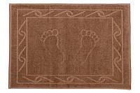 Полотенце махровое для ног HOBBY 50х70 Hayal коричневый 1шт, фото 1