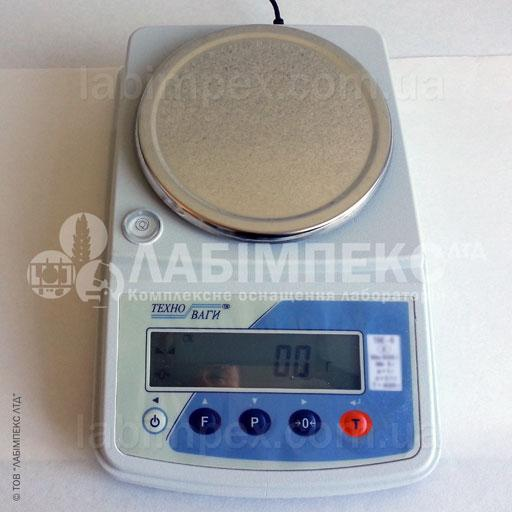 Весы лабораторные ТВЕ-3-01-а, 3 кг х 0.1 г, 2 класс