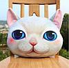 Подушка кот 3D