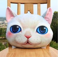 Подушка кот 3D, фото 1