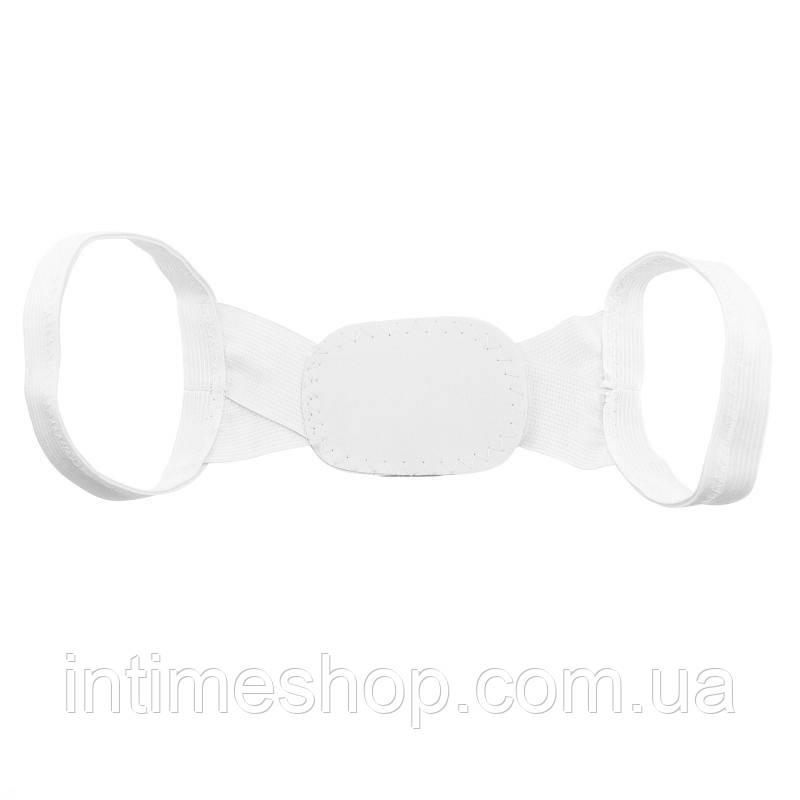 🔝 Корректор осанки под одежду Chest Belt (Чест Белт), цвет - белый, с доставкой по Киеву и Украине | 🎁%🚚