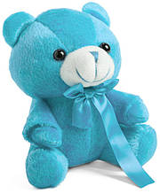 Ведмедик з кольоровою стрічкою
