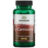 L-карнозин L-Carnosine 500 мг 60 капсул США