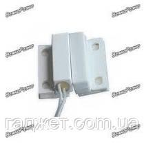 Проводной датчик открытия двери. Датчик магнитоконтактный (геркон). Проводной датчик двери/окна, фото 3