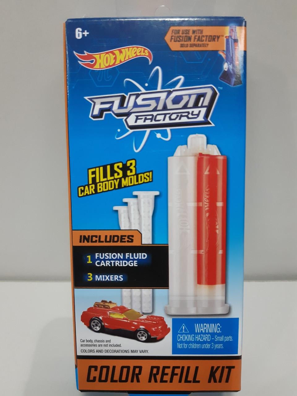 43de7ed928a311 Hot Wheels Fusion Factory Заправка для Игрового набор Создатель автомобилей  Hot Wheels - Николетт - Игрушки