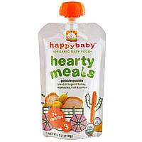 Nurture Inc. (Happy Baby), Органическое детское питание, Hearty Meals, Gobble Gobble, 3, 4 унций (113 г)