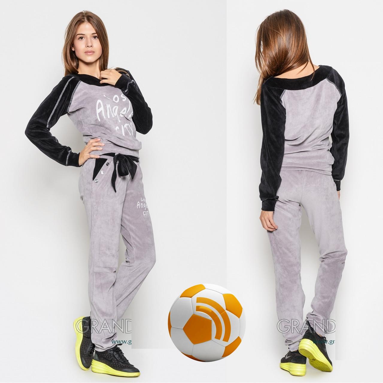 Женский Спортивный костюм из велюра L 5912