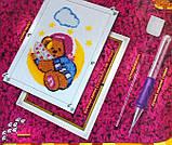 "Ковровая вышивка ""Мишка на месяце"", PN-01-09, фото 4"