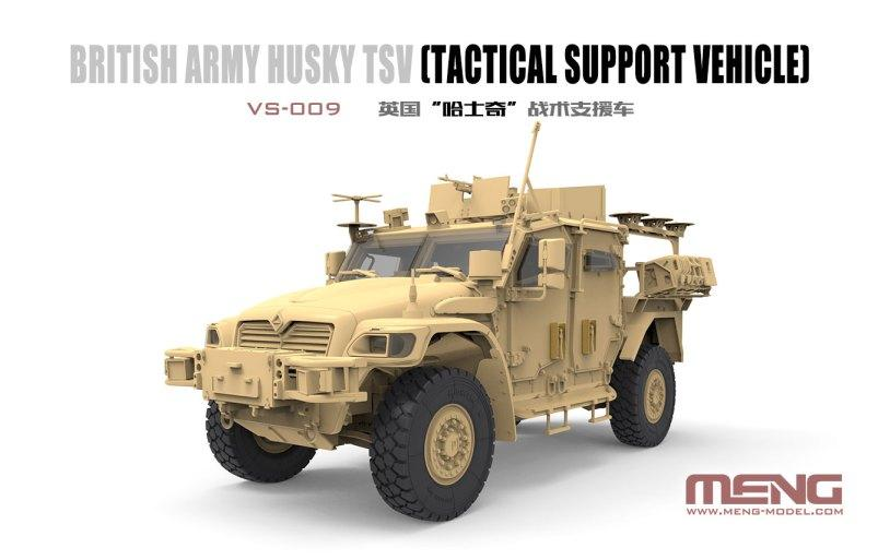 British Army HUSKY TSV. 1/35 MENG VS-009