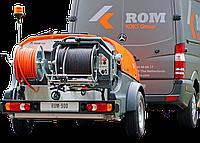 Каналопромывочный трейлер высокого давления ROM 900
