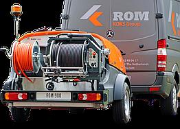 Каналопромывочный трейлер високого тиску ROM 900
