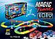 Magic Tracks 360 (модель B) - игрушечный гоночный трек-конструктор + 2 машинки синего цвета, фото 8