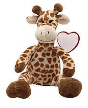 Плюшевий жираф з сердечком