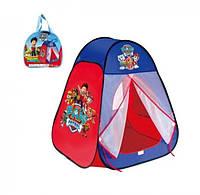 Палатка детская Щенячий патруль 817S, размер 80x80x90 см, в сумке