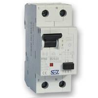 Дифференциальный автомат SEZ PFI2 10A/30mA 2P