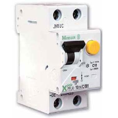 Дифференциальный автомат Eaton/Moeller PF6 40A/30mA 4P
