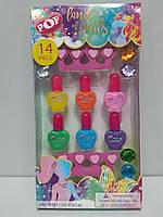 Набор Детский для Мастера Маникюра 14 предметов Pop Land of Nails Набор Лаков