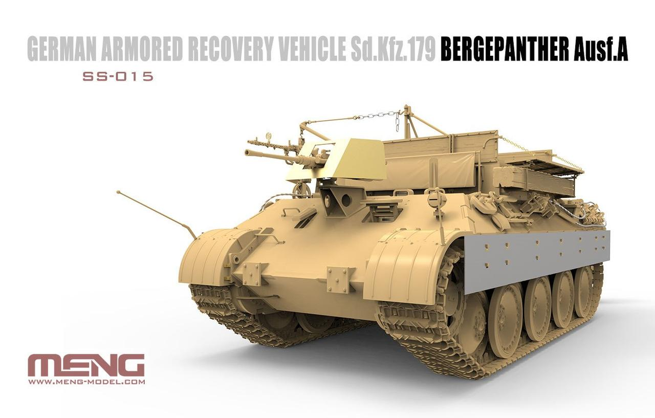 German Armored Recovery Vehicle Sd.Kfz.179 Bergepanther Ausf.A. 1/35 MENG SS-015