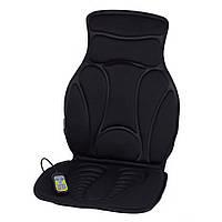 🔝 Автомобильная массажная накидка, Pangao FM-9504B2, накидка массажер в машину, Черный, автомобильный массажер | 🎁%🚚, фото 1