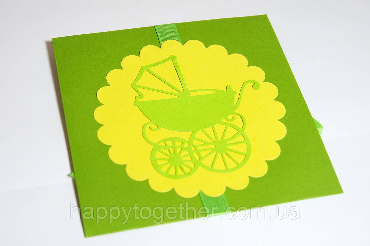 Конверт для диска ручной работы на детский день рождения