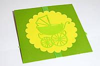 Конверт для диска ручной работы на детский день рождения, фото 1