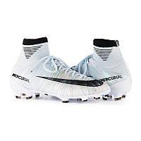 Бутсы пластик детские Nike Mercurial Superfly V DF CR7 FG Junior 922586-401(01-17-08) 36