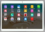 Планшет телефон Lenovo K10T, 8 ядер, 10.1'', 4Gb/32Gb, GPS, 2 sim, 3G + ЧЕХОЛ, фото 2