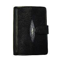 🔝 Кожаный кошелек, Classic Ckat, портмоне из ската, (доставка по всей Украине) | 🎁%🚚