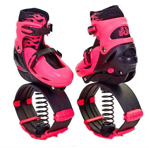 Черевики для джампінгу, Kangoo Jumps, взуття на пружинах, колір - рожевий, розмір 39-42