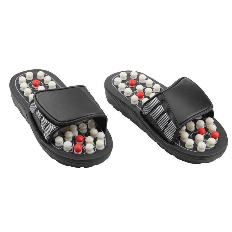 Массажер для ног, Massage Slipper, массажные тапочки, рефлекторные, для ступней. Размер XL (44-45)