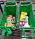 Складная сумка для покупок Grab Bag Snap-on-Cart Shopping Bag, с доставкой по Украине, фото 7