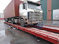 Весы автомобильные 18 метров 80 тонн, СВМ-А18-С80