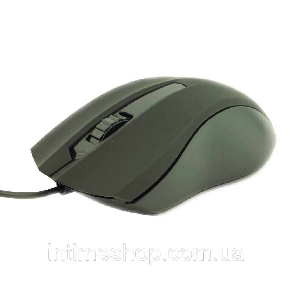 ✅ Мышка для компьютера, оптическая, Counter Attack, цвет - чёрный