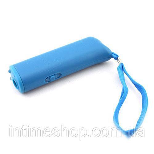 Защита от собак, отпугиватель собак, Ultrasonic, AD-100, ультразвуковой. Синий