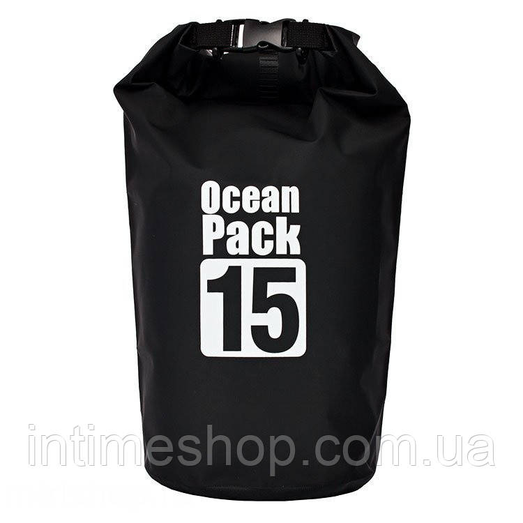 Сумка рюкзак, Water Proof Bag - Ocean Pack, рюкзак мешок, цвет - чёрный