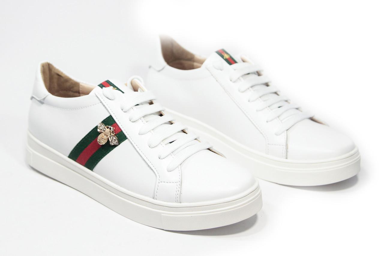 05d88c54 Кеды женские гуччи белые (реплика) Gucci White: продажа, цена в ...
