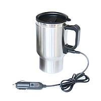 🔝 Кружка автомобильная, Electric Mug, 350 мл,- это, кружка кипятильник, кружка с подогревом   🎁%🚚