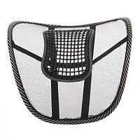 🔝 Корректор осанки Офис Комфорт, подставка для спины, поясничного отдела, на кресло или стул | 🎁%🚚