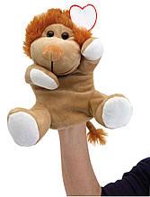 Плюшева лялькова рука лев