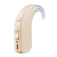 🔝 Заушный слуховой аппарат, цифровой усилитель звука, Axon D 322, с аккумулятором | 🎁%🚚, фото 1