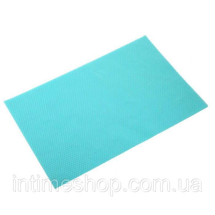 🔝 Антибактериальные коврики для холодильника (4 шт.) - бирюзовые | 🎁%🚚