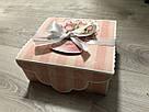 """Подарочная бумажная коробка с атласной лентой «Открытка"""", 700 грамм, фото 3"""