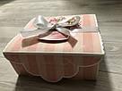 """Подарочная бумажная коробка с атласной лентой «Открытка"""", 700 грамм, фото 5"""