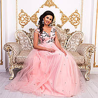 5db014541e1 Персиковое платье на выпускной в Харькове. Сравнить цены