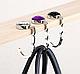 Держатель для сумки на стол, вешалка, Аметист, цвет - белый, фото 4